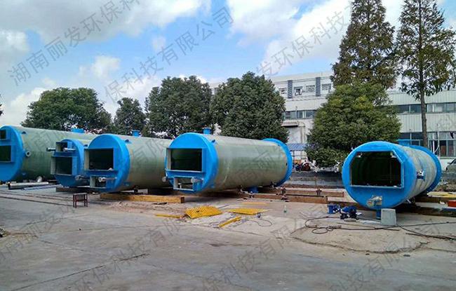 现代化污水提升泵站
