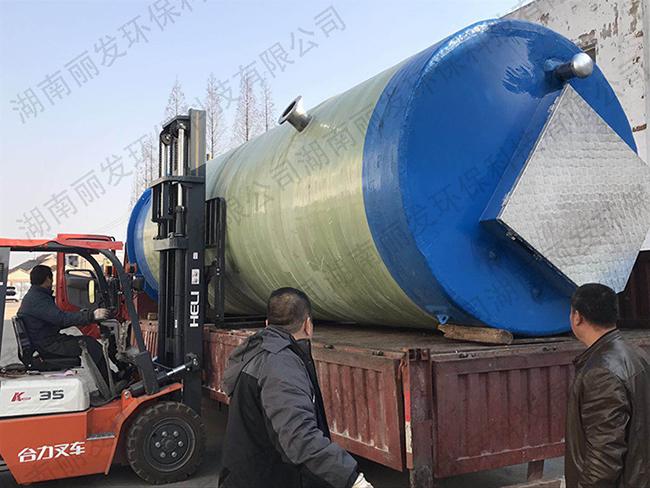 地埋一体式污水提升泵站厂家