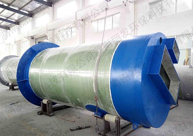 湖南一体化污水提升泵站