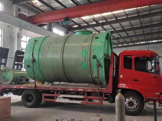 湖南长沙智能一体化污水提升泵站