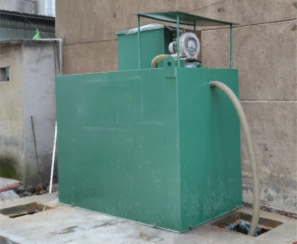 湘潭地埋式一体化污水处理设备