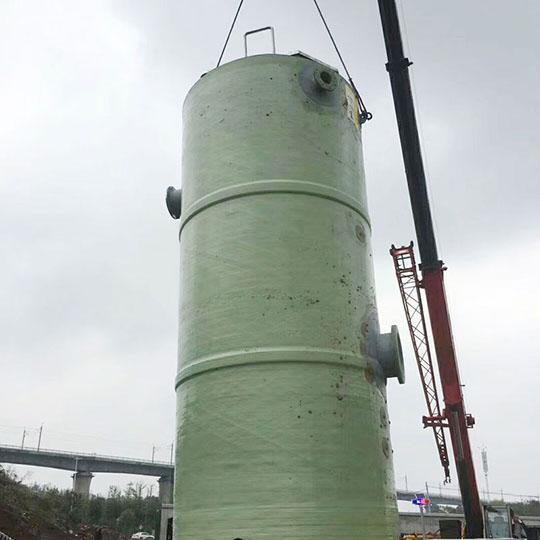 玻璃钢一体化预制提升泵站厂家