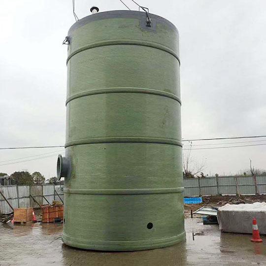智能地埋式一体化污水泵站