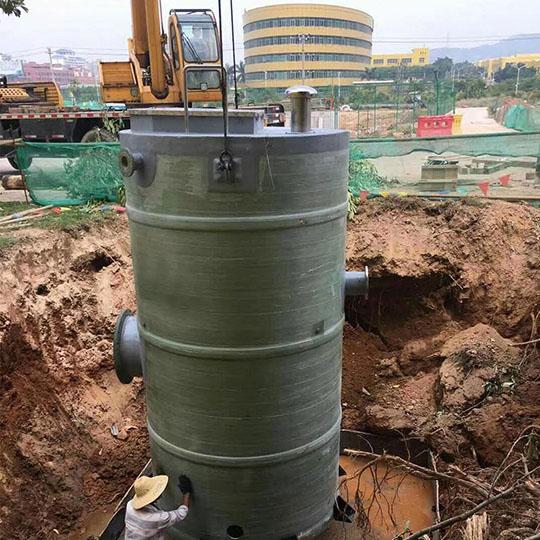 地埋式一体化预制泵站