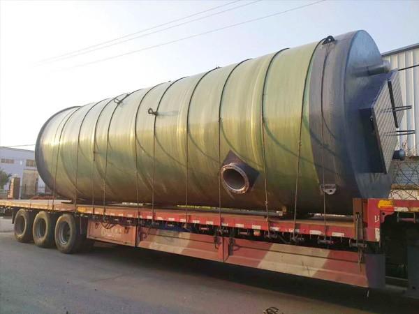 湖南丽发地埋式一体化污水提升泵站